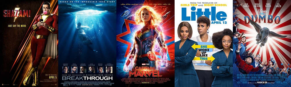 Box Office Report - Daily Box Office Report: Thursday, April 18, 2019