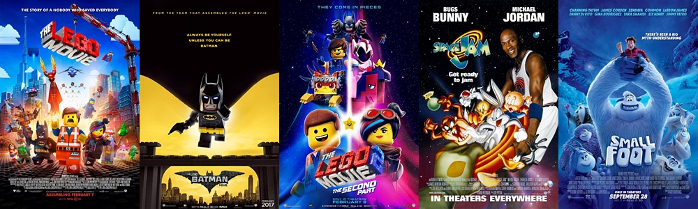 8507adb6c9 Box Office Report - Box Office By Brand - Warner Bros. Animation