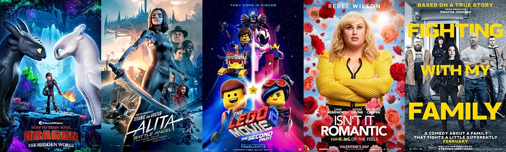 Box Office Report - Weekend Box Office Predictions: February